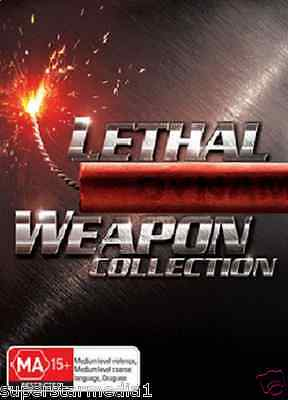 Lethal Weapon : Complete Collection 1, 2, 3 & 4 : NEW DVD