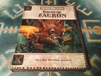 Races Of Faerun ~ Dungeons & Dragons 3.0/3.5 ~ Forgotten Realms
