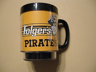 Vintage Pittsburgh Pirates Folgers Coffee Cup