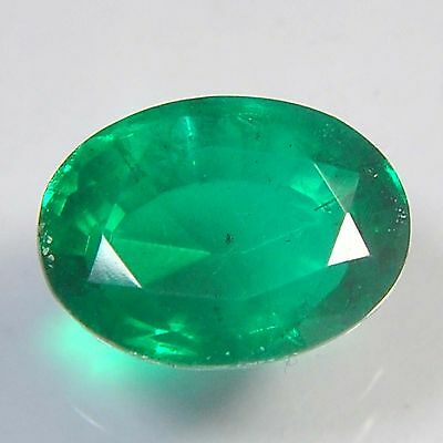 E21@ 11.35 Cts royal green emerald doublets quartz oval cut gemstone for jewelry