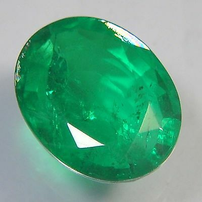 E21@ 13.50 Cts royal green emerald doublets quartz oval cut gemstone for jewelry