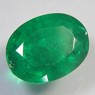 E21@ 10.20 Cts royal green emerald doublets quartz oval cut gemstone for jewelry