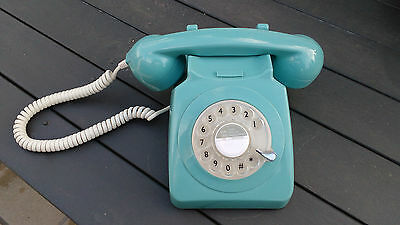 Classic Dial Rotary Phone -  1970's replica