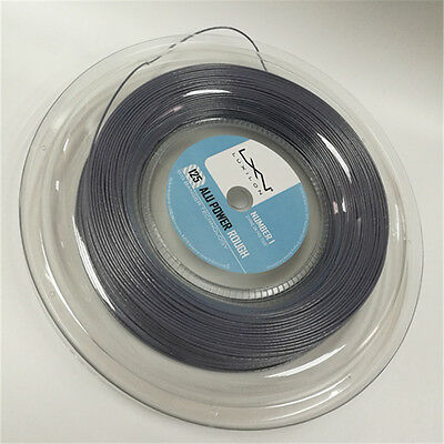 NEW alu power rough luxilon tennis string,1.25MM,660FT,Silver ,no printing