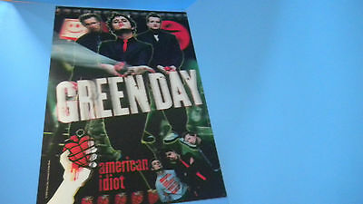 Green Day American Idiot Lenticular 3D  Poster