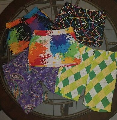 Loudmouth Ladies Golf  LOT Size 4 Total of (3) Skirts and (2) shorts