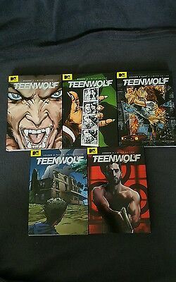 Teen Wolf Exclusive Covers SDCC Comic Con DVD Set Season 1, 2, 3 (Part 1 & 2), 4