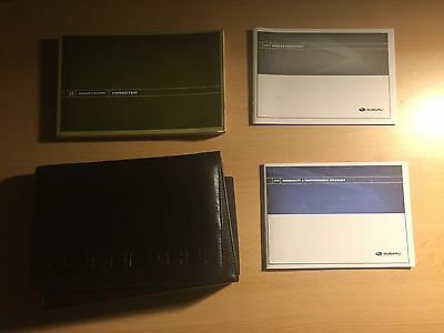 2008 Subaru Forester Owners Manual With Case & Supplements