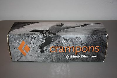 Black Diamond Contact Strap Crampons - Glacier, Alpine - Used Once - S/M