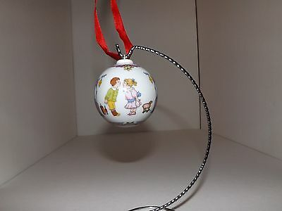 Vintage Hutschenreuther Christmas Ornament Children and Toys