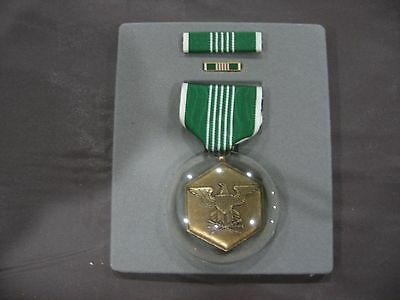 US Military Army Accomendation Medal Full Size Set with Pin & Ribbon