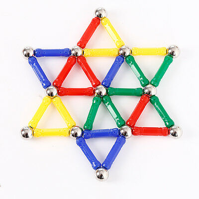 Magnetic Building Block Blocks Magnets Early Educational Puzzle For Babys Child
