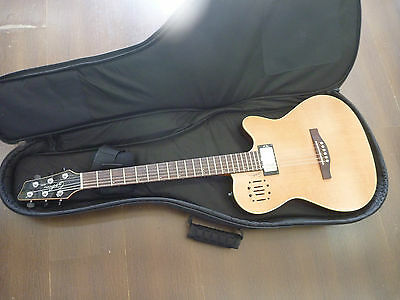 Godin A6 Ultra Acoustic Electric Solid Cedar Top Guitar With Bag Great Condition