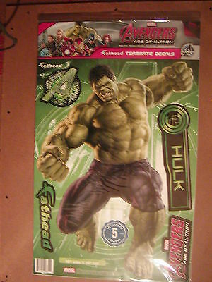 Marvel Avengers Age Of Ultron Hulk Fathead Teammate Wall Graphic Decals New 2015