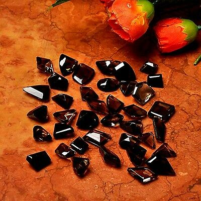 LOT 300 Cts Faceted Smoky Topaz & MIX GEMSTONE CABOCHON LOOSE GEM CAB
