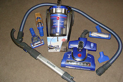 hoover allergy cyclonic vacuum cleaner with HEPA  carbon filtration