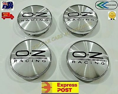 OZ RACING WHEEL CENTRE CAPS 60mm HUBCAPS FOR HOLDEN FORD  SB HYUNDAI MITSUBISHI