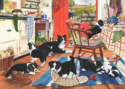 The House Of Puzzles - 500 BIG PIECE JIGSAW PUZZLE - Mum's Helpers Big Pieces