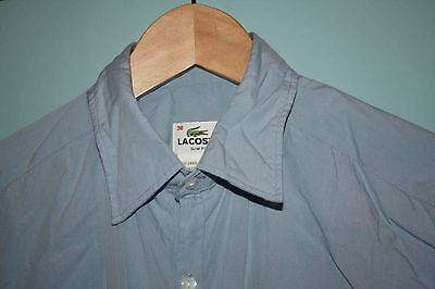Lacoste Slim Fit Shirt Size 38 / S-M RRP $129 *Worn once only
