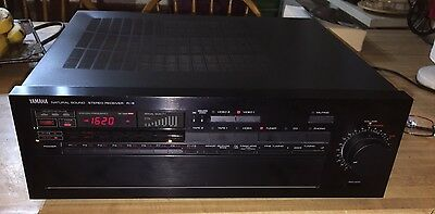 Yamaha R-8 Natural Sound Vintage AM/FM Stereo Receiver Working With Remote
