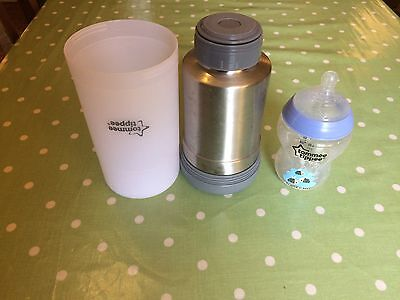 Tommee Tippee Closer To Nature  Travel Food Bottle Warmer Water Milk Baby Warmer