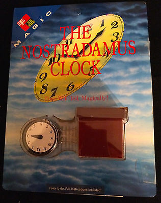 TENYO  NOSTRADAMUS CLOCK T-152  close up magic trick