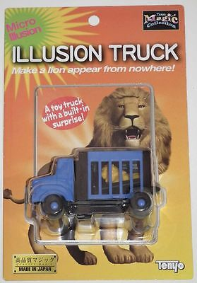 TENYO ILLUSION TRUCK  T-241  close up magic trick