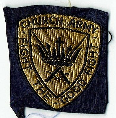 Church Army -  'Fight The Good Fight' Ribbon Badge