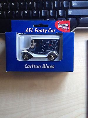 2000 Carlton Official Afl  Footy Car Limited Edition New In Box