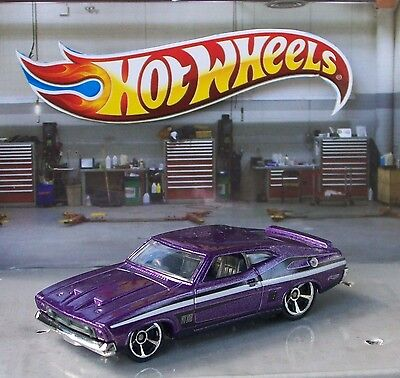 Hot Wheels 73 Ford Falcon Xb Metallic Purple #120/247 Scale 1/64 Diecast Loose