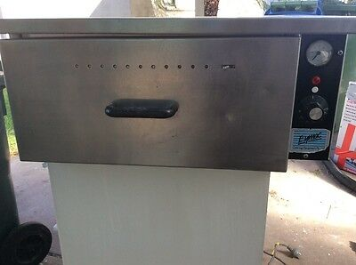 commercial kitchen food warmer draw