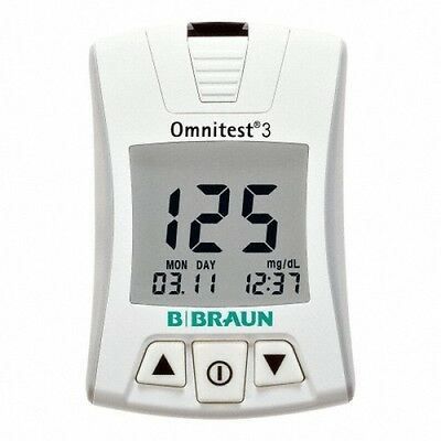BRAUN OMNITEST 3 Blood Glucose Meter Glucose Monitor Diabetic Aids