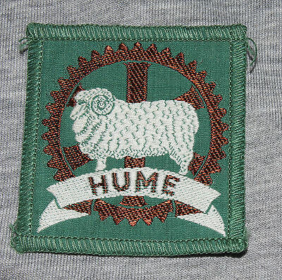 Scout Badge Hume Old Design