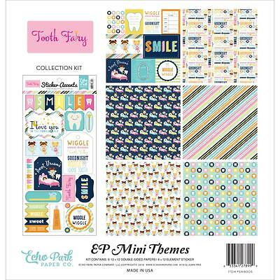 "Echo Park Mini Themes Collection Kit - TOOTH FAIRY - 12x12"" papers + stickers"