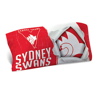 Sydney Swans AFL Pillow Case Pillowcase Birthday Farthers Gift *NEW 2017*