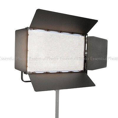 LED2000B Bi-Colour Continuous LED Panel with DMX Output Studio Video Light