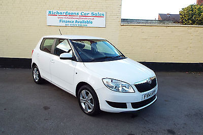 4014 14 Skoda Fabia 1.6TDI CR ( 75ps ) SE