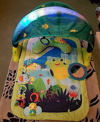 Baby Bright Starts Lagoon Play mat / gym with Sounds and Lights - playmat