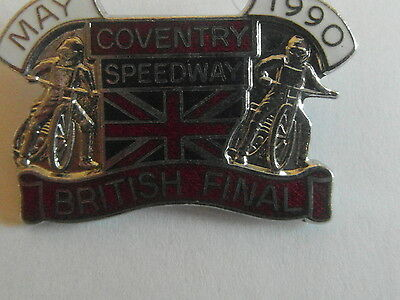 Coventry 1990  Speedway       Badge