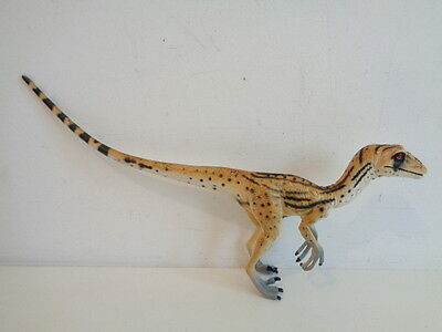 *RARE* BBC WALKING WITH DINOSAURS UTAHRAPTOR DINOSAUR MODEL by TOYWAY 2000