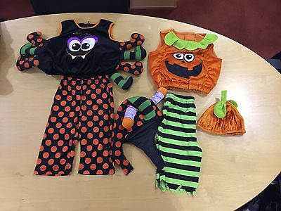Fancy Dress X 2 Costumes 6-12 Months Vgc. Expensive New M & S