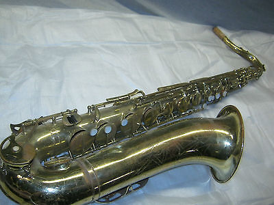 1964 CONN OLYMPIAN TENOR SAX / SAXOFON -- made in USA