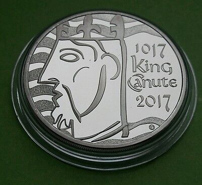 2017 UK ROYAL MINT FIVE POUND COIN £5 - 1000th Anniversary of King Canute PROOF