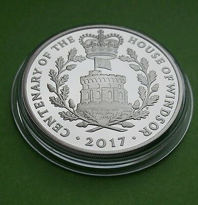 2017 UK ROYAL MINT £5 FIVE POUND PROOF COIN  Centenary of the House of Windsor