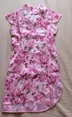 Chinese New Year Dress For Girls Age 8 With Shimmer Pink