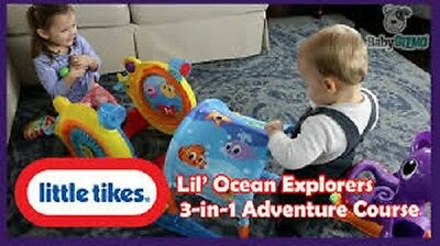 Little Tikes Lil' Ocean Explorers 3-in-1 Adventure Course Toddlers Fun Activity