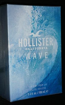 Hollister Wave For Him Eau De Toilette 100ml Genuine