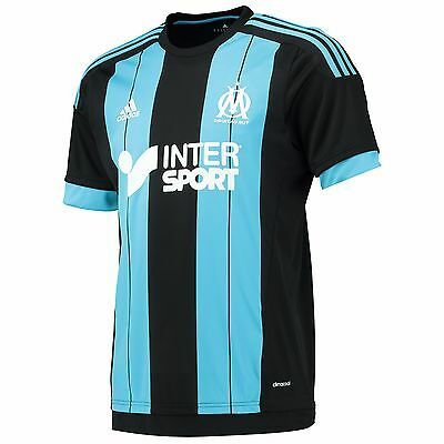 Adults Large Olympique de Marseille Away Shirt 2015/16 EB88