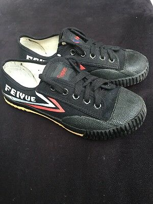 feiyue Martial Arts Shoe Black Uk Size 3. Karate Shoes
