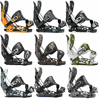Flow NX2 NX2 GT Hybrid Fusion Men's Snowboard Bindings Step-In 2016-2017 NEW